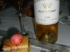 Sauterne with foie