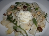 Burrata cheese with carciofi