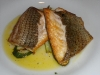 Beautiful branzino