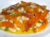 Grey mullet roe with cannellini beans