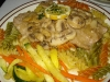 Veal piccante