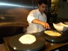 Smoothing the dosa