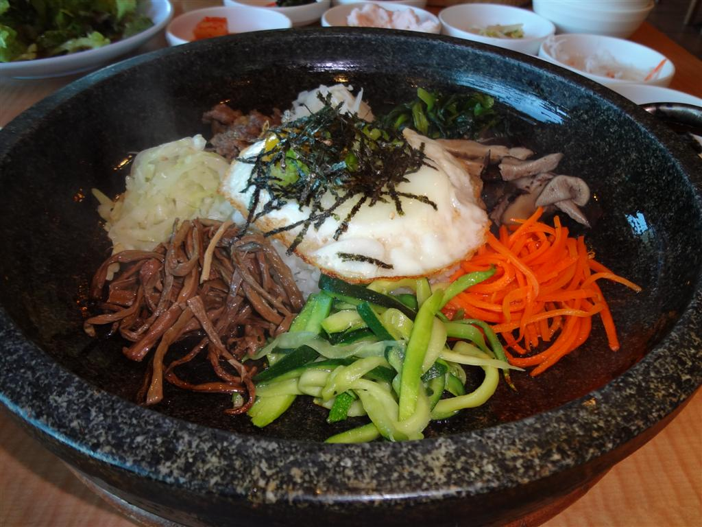 Dolsot bibimbap
