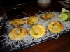 Baked clams with miso