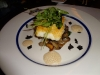 Halibut over 'shrooms