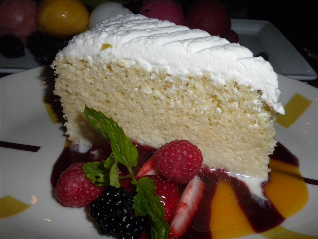 BORDER GRILL Tres Leches Cake — Eating Las VegasEating Las Vegas