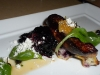 Foie gras with huckleberries