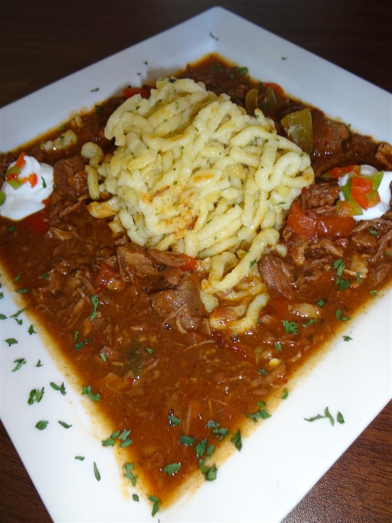 Golly gee that\'s good goulash!