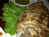 Whole baked tilapia