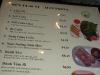 Pho Sai Gon menu