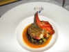 Pistachio-crusted lobster