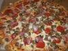 Pizza Deli all meat pizza