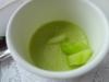 Cold asparagus soup amuse