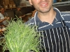 Matt Accarino and his agretti