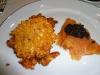 Herbed mung bean pancake