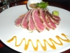 So-so seared tuna