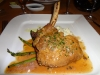 Stuffed veal chop