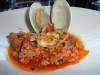 Sausage with clams