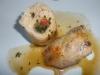 Boneless stuffed chicken