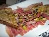 Serrano ham with okra