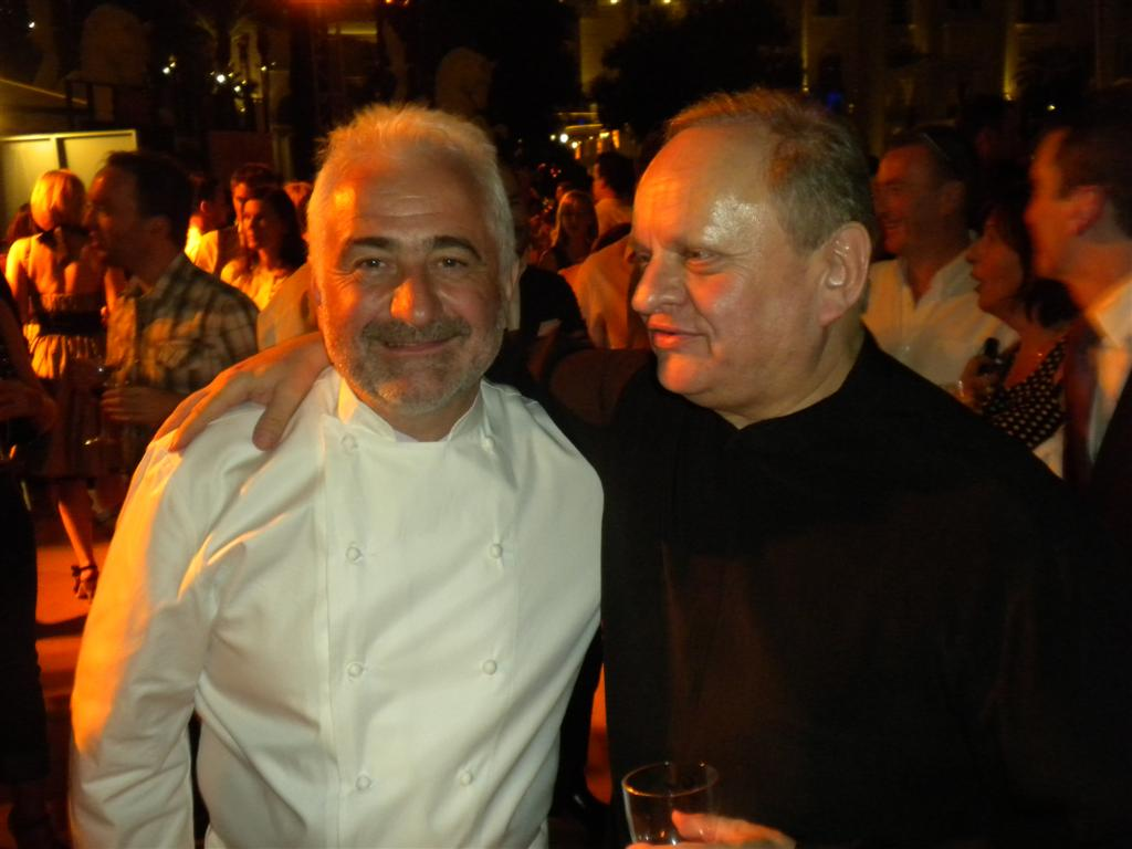 Two titans of gastronomy
