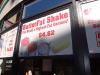 Butterfat shakes