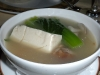 Duck and tofu soup