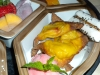 Pineapple wontons