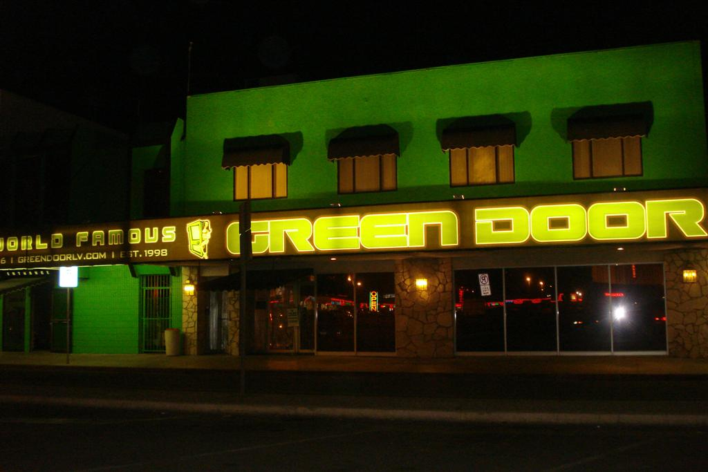 green door las vegas video