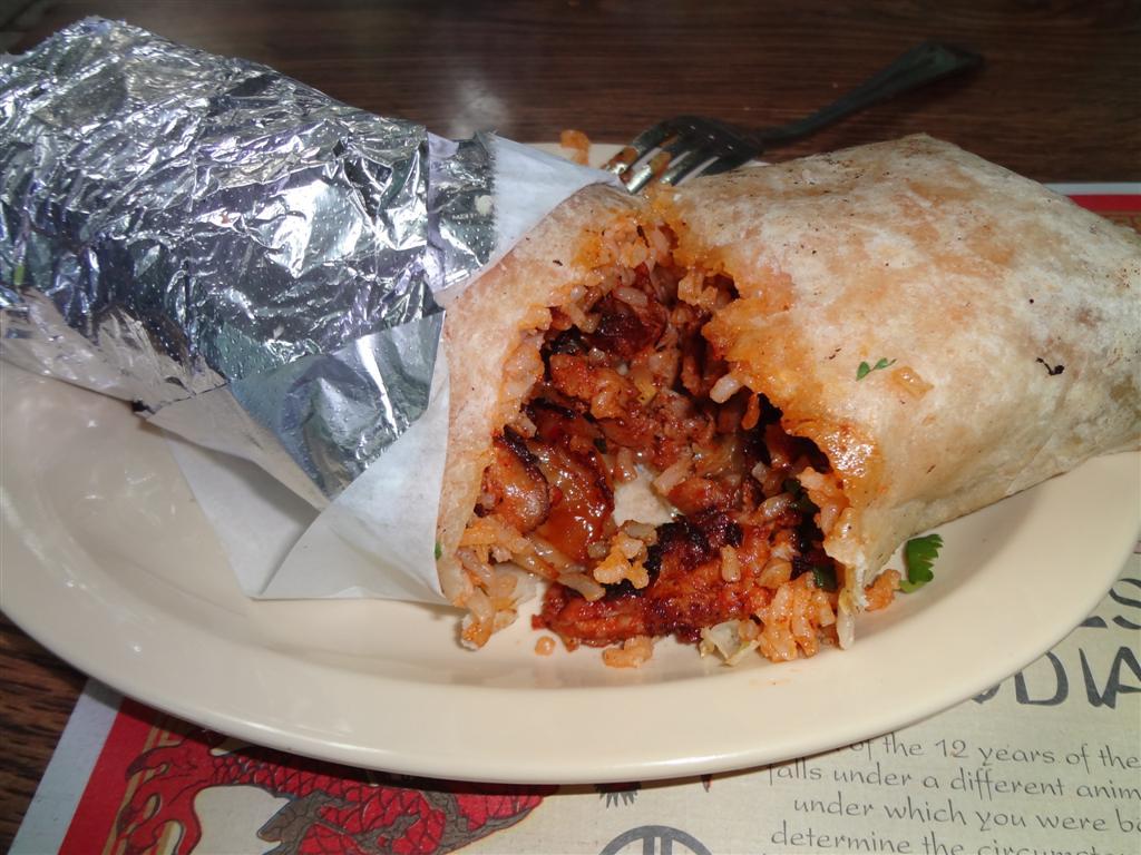 Big fusion burrito