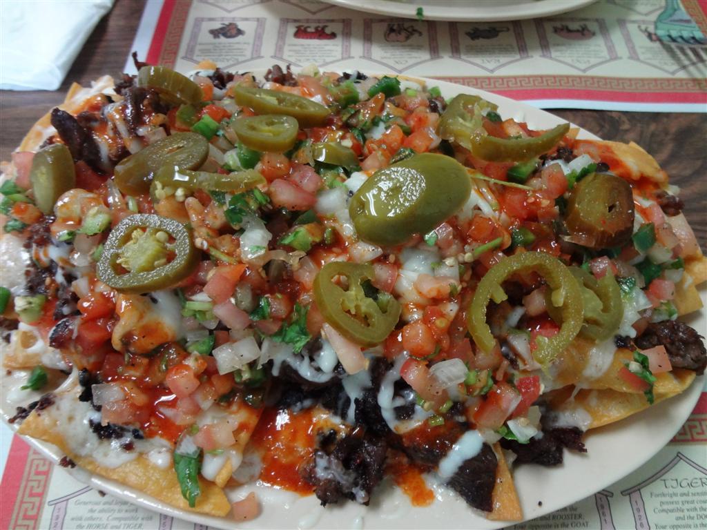 Fusion bulgogi nachos