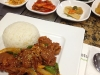 Pork Bulgogi with banchan