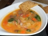 Tuscan-style vegetable soup