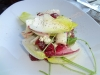 Endive and blue cheese salad