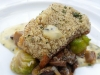 Pecan-crusted redfish