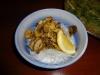 Conch with garlic