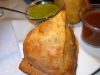 Samosa close-up!