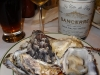 A lovely wine with lovely bivalves