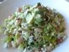 Bland, monochromatic salad