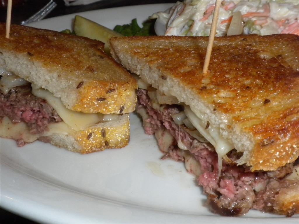 Patty melt at Du-par\'s