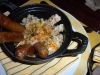 Lamb sausage with couscous