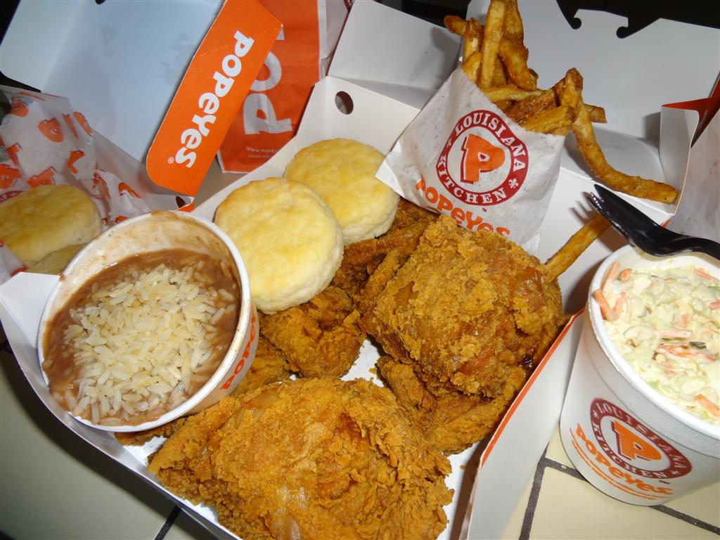 Popeyes Fried Chicken Meal | www.pixshark.com - Images ...