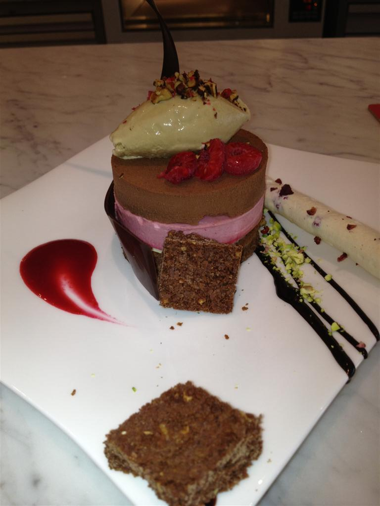 Apollo - chocolate and framboise mousse