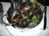 Mussels in spicy wine