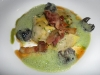 Pork belly agnolotti