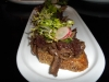 Oxtail and marrow crostinin