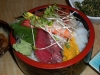 Chirashi sushi