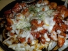 Spicy chicken with mozz