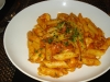 Shrimp penne puttanesca