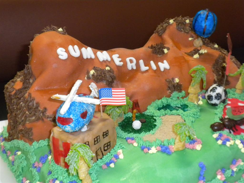 Summerlin 20th Birthday Cake Competition Eating Las VegasEating
